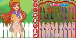 Hra - Ever After High Rosabella Beauty Dress Up