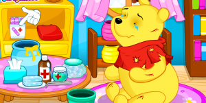 Hra - Winnie The Pooh Doctor