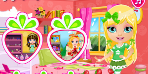 Hra - Baby Barbie Strawberry Costumes