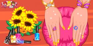 Hra - Beauty Nail Art Salon