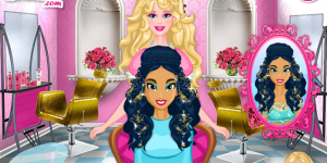 Hra - Barbie's Princess Hair Salon