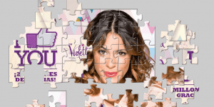 Hra - Welcome To Puzzle With Violetta