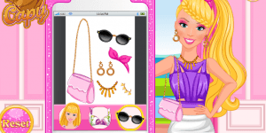 Barbie's Selfie Make-up Design