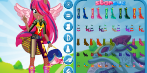 Hra - My Little Pony Indigo Zap Motocross Style