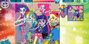 Hra - My Little Pony Puzzle