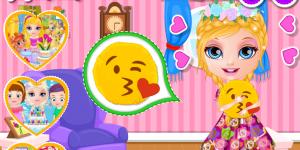 Hra - Baby Barbie DIY Emoji Pillow