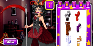 Hra - Halloween Makeover