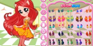 Fluttershy School Spirit Style