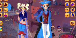 Hra - Halloween Couple Dress up