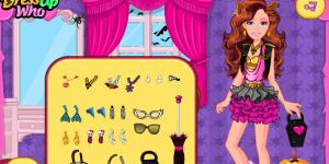 Hra - Barbie Monster High Halloween
