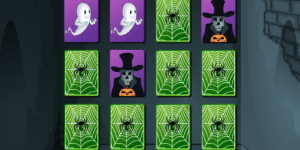 Hra - Halloween Memory Game