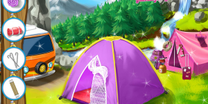 Barbie Going To Family Camping