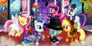 Hra - My Little Pony Halloween Party