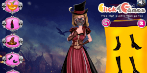 Riley Halloween Spooky Dressup