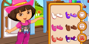 Hra - Dora's Overalls Design