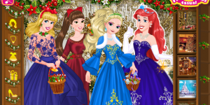 Hra - Disney Princess Christmas Eve