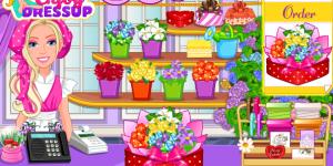 Hra - Barbie's Flower Shop