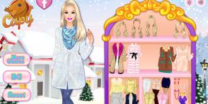 Hra - Barbie' s Winter Glitter Trends