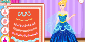 Hra - Cinderella Prom Dress Design