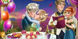 Hra - Elsa Valentine's Day Kiss