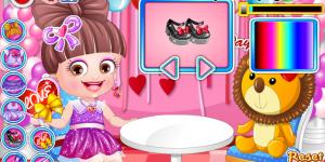 Hra - Baby Hazel Valentine Dress Up