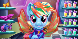 Hra - Rainbow Dash Real Haircuts