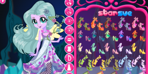 Hra - Fluttershy Dress Up