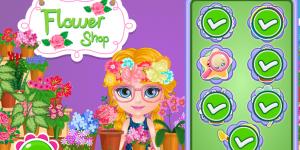 Hra - Baby Barbie Flower Shop Slacking