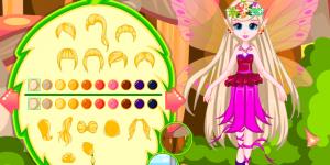 Hra - Fairy Barbie Dress Design