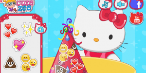 Hra - Hello Kitty Emojify My Party