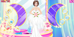 Hra - Gorgeous Fashion Bride Dress Up