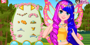 Hra - Princess Fairy Hair Salon