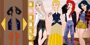 Hra - Disney Princess Coachella