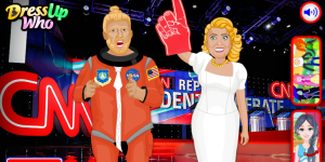 Hra - Donald Trump vs Hillary Clinton
