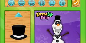Hra - Olaf's Stuffed Snowman Shop