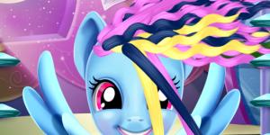Hra - Rainbow Pony Real Haircuts