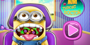 Hra - Mini Throat Doctor