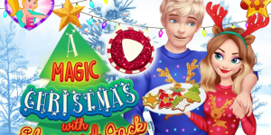 Hra - A Magic Christmas With Elsa And Jack
