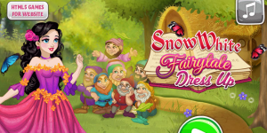 Hra - Snow White Fairytale Dress Up