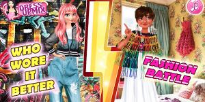 Hra - Who wore it better - Fashion Battle