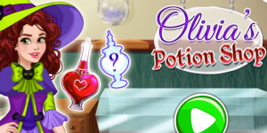 Hra - Olivia's Magic Potion Shop