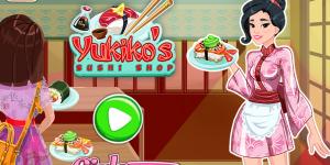 Hra - Yukiko's Sushi Shop