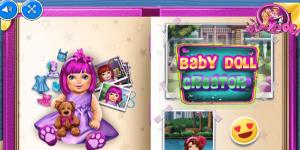 Hra - Baby Doll Creator