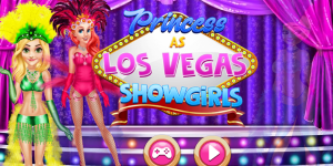 Princess As Los Vegas Showgirls