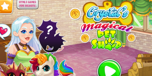 Hra - Crystal's Magical Pet Shop