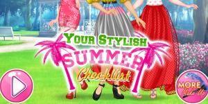 Your Stylish Summer Checklist