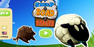 Hra - Sheep Road Danger