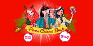 Hra - Princess Christmas Beards