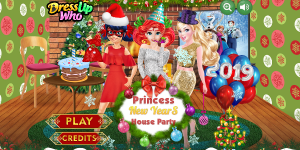 Hra - Princess New Years Party