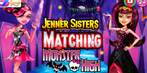 Jenners Sisters Matching Monster High